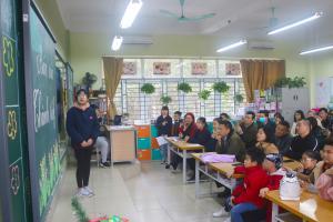 Họp phụ huynh học kì I (Năm học 2020 - 2021)